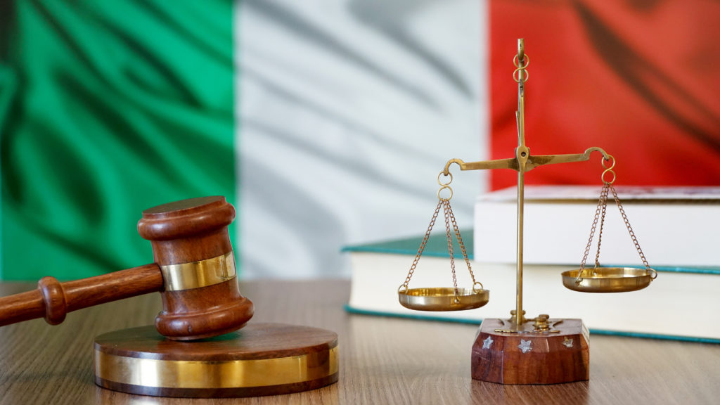 Italian courts ruled the 1912 law unfair.