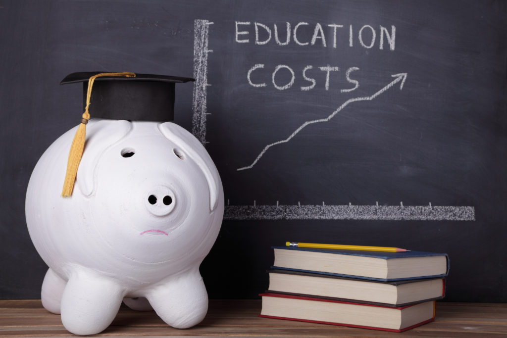 Rising cost of college tuition