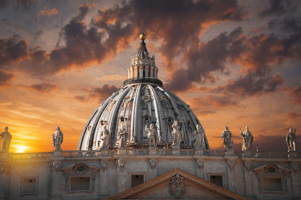 St. Peter's is the largest church in the world.