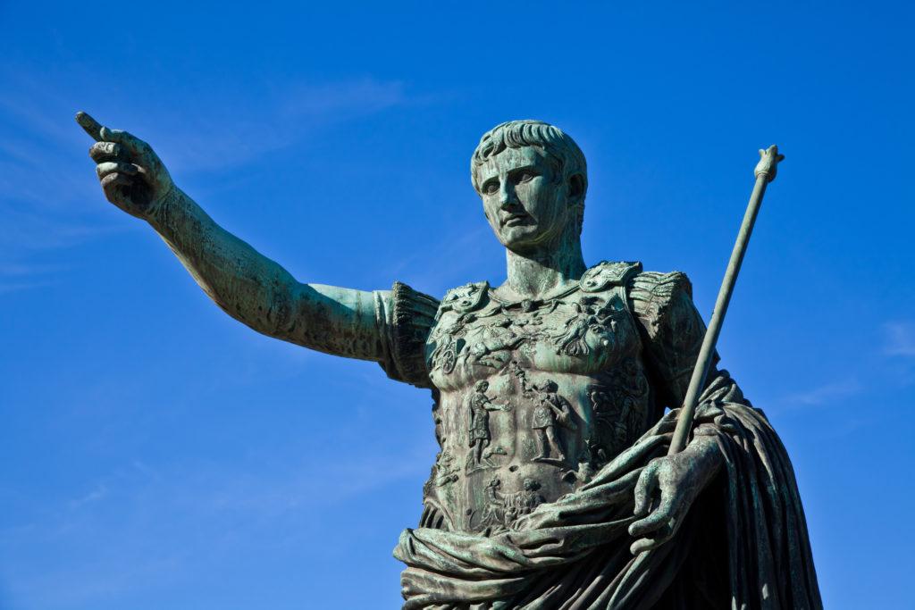 Julius Caesar established the Roman Empire.