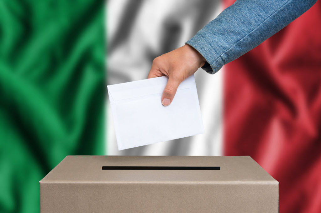 Italian citizens have many choices when voting.
