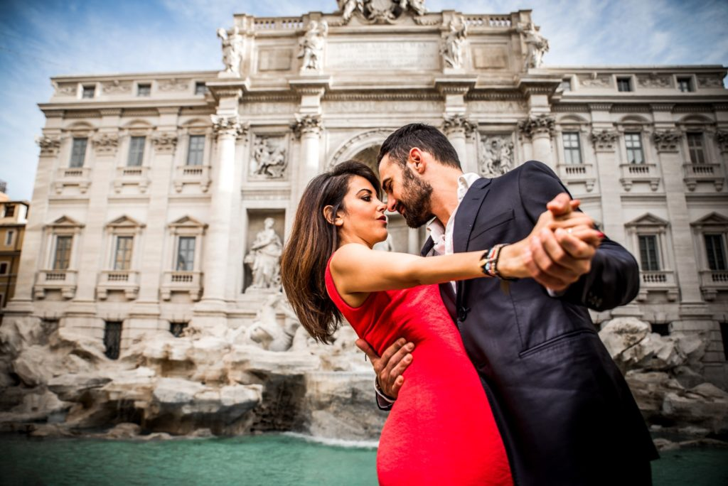 Will you find romance after visiting Trevi Fountain?