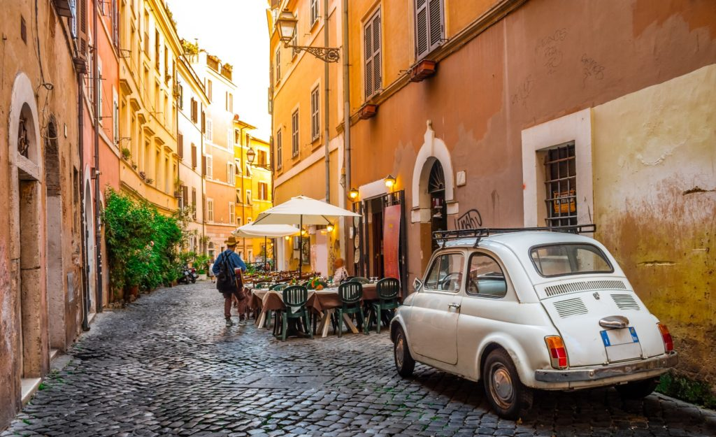 Applying for citizenship in Italy means you get to live there while you wait!