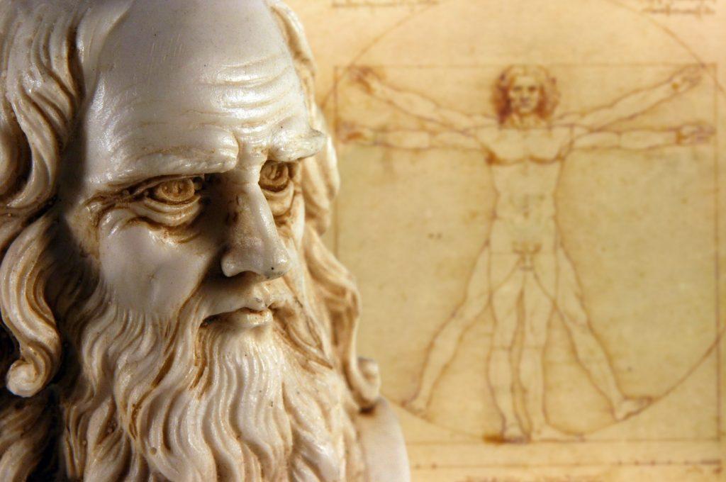 Leonardo da Vinci was one of the most famous Italian artists ever.