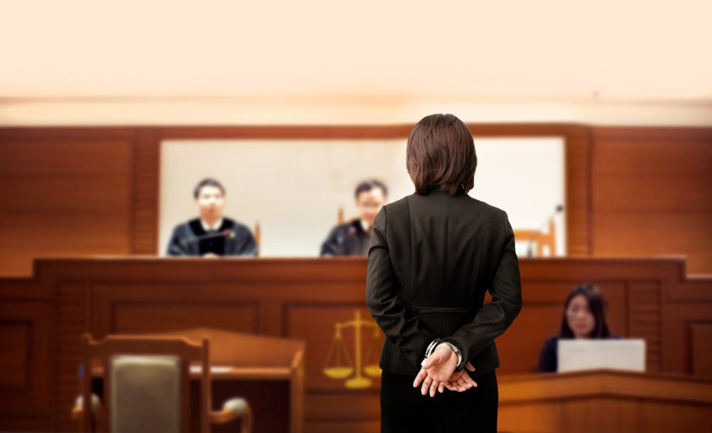 Some cases in Italy go before a panel of judges.